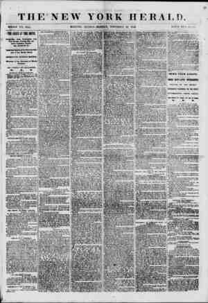 THE NEW WHOLE NO. 8845. MORNING YORK HERALD. EDITION?MONDAY, NOVEMBER 20, 1800. PI? ICE TWO cpyfv THE CRISIS ir TUB SOUTH.
