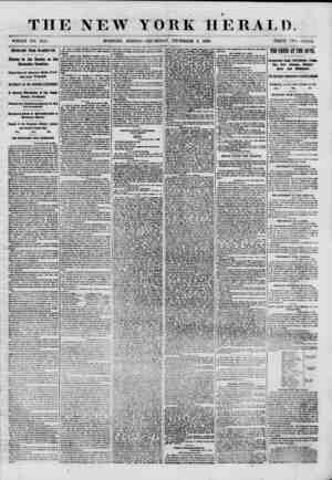 THE NEW YORK HERALD a WHOLE NO. 8855 DIPOftrilT FROM WASHINGTON. Debate in the Senate on the Secession Question. Speeches of