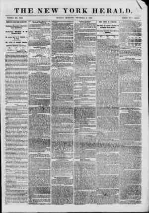 THE NEW YORK HERALD. WHOLE NO. 8868. SUNDAY MORNING, DECEMBER 9, 1860. PRICE TWO CENTS. IMPORTANT NEWS FROM WASHIN3TOM....