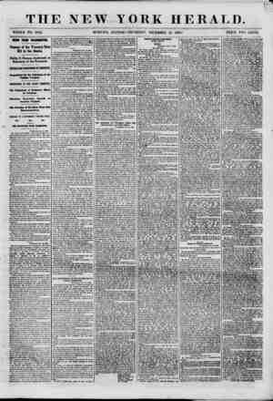 V THE NEW YORK HERALD. WHOLE NO. 8862. NEWS FROM WASHINGTON. Passage of the Treasury Note Bill in the Senate. Philip F....