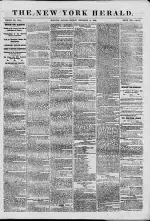 THE?NEW YORK HERALD. WHOLE NO. 88ti3t MORNING EDITION-FRIDAY, DECEMBER 14, 1860. PRICE TWO CENTS. DHP0RTA8T FROM WASHINGTON.