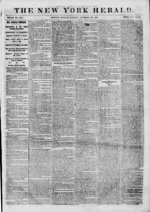 THE NE W YORK HERALD. WHOLE NO. 3367. MORNING EDITION? TUESDAY, DECEMBER 18, 1860. PRICE TWO CENTS. OUR m\mi TROUBLES....