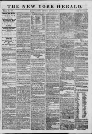 THE NEW YORK HERALD. WHOLE NO. 8889. MORNING EDITION-THURSDAY. JANUARY 10. 1801. TRICE TWO CENTS. IMPORTANT FROM THE SOUTH.