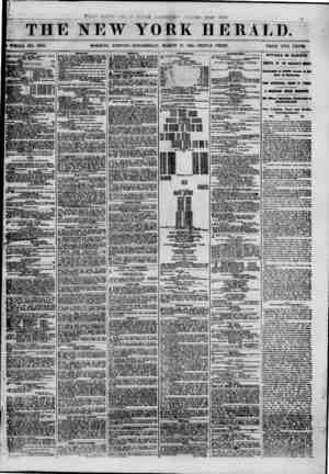 / r THE NEW YORK HERALD. t ( 'WHOLE NO. 8951. MORNING EDITION? WEDNESDAY, MARCH 13, 1861. -TRIPLE SHEET. PRICE TWO CENTS...
