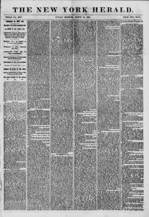 THE NEW YORK HERALD. WHOLE NO. 8962. SUNDAY MORNING, MARCH 24, 1861. PRICE TWO CENTS. ROMANCE IN HI8N LIFE. m GREAT YELVERTON