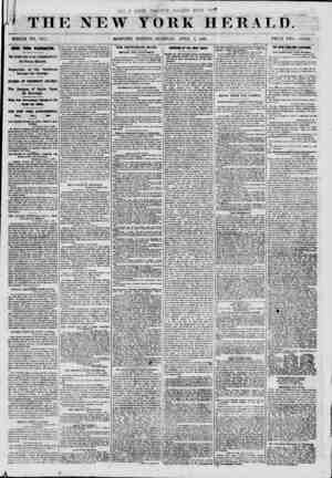 THE NEW WHOLE NO. 8971. ' MORNING YORK HERAT. D. PRICE TWO ck.VTS. NEWS FROM WASHINGTON. The Instructions of the...