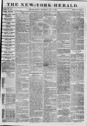 THE \ K W -Y OKK II E It A I, I). WHOLE NO. 8S86. MORNING EDITION- WEDNESDAY. APRIL 17, 1861. PRICE TWO CENTS. THE WAR....
