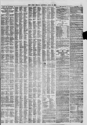 LIST OF LETTERS it the law York Post Offioe Saturday, April *?, 1861. ffleiilly Published la the Newspaper IUtIbk ttie...