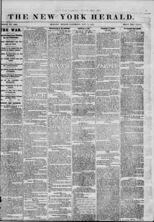 \ I # * THE NEW YORK HERALD. WHOLE NO. 9003. fHE WAR. portant News from Washtog toa and Philadelphia. feeted Demonstrations