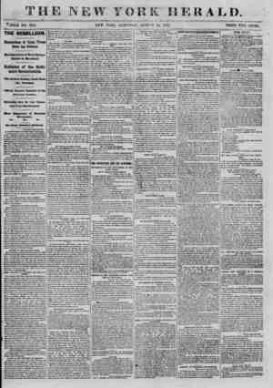 nn ^[Tj JL JO ___ ^flOLE NO. 91M. ? ? THE REBELLION. Explorations of Union Troops Down the Potomac. Manifestations of Rebel