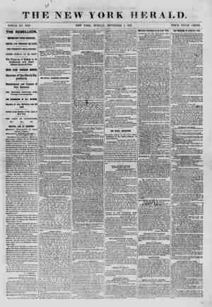 TE WHOLE NO. 9122. THE REBELLION. IMPORTANT FROM MISSOURI. MARTIAL LAW THROUGHOUT THE STATE, GEN. FREMONT'S PROCLAMATION....