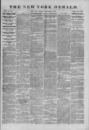 TH WHOLE KO. 9126. THE REBELLION. Confirmatory Reports of the Death of Jefferson Davis. Unfounded Rumors <of Conflicts ill