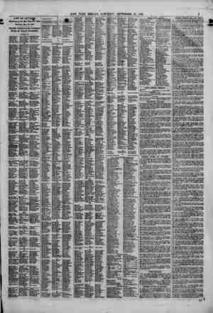 LIST OF LETTERS . Eemaining the New York Post Office Saturday, Sept 21, 1861. Officially Published in the Newspaper Having