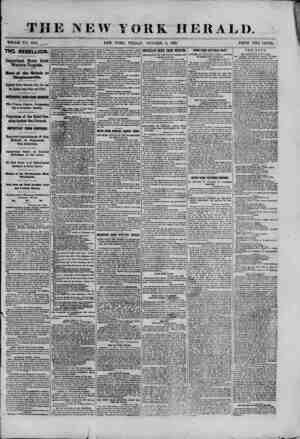 TBE NEW ?OKK WHOLE NO. 9155. HERALD. 18G1. THE REBELLION Important News from Western Virginia. Bout of the Rebels at...