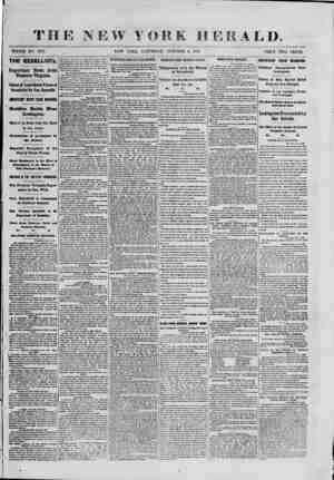 WHOLE NO. 9156. NEW YORK, SATURDAY, 3 R A L D. OCTOBER 5, 1861. PRICE TWO CENTS. THE REBELLION. Important News; from Western
