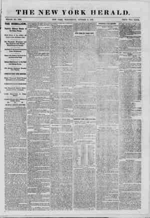 THE NEW YORK HERALD. WHOLE NO. 8160. THE REBELLION. Imposing Military Display of the Union Forces. Grand Review of the...