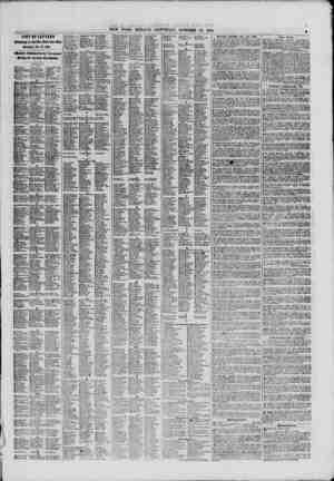 LIST OF LITTERS in the 9?w York Pott Office Saturday. Oct. 12. 1861. ?flrUllv I'hMMimI In ibc \ru?t?ap?r ?avis* the Ur?N...