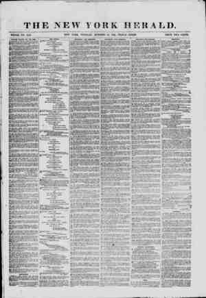 THE NEW YORK HERALD. WHOLE NO. 9166. NEW YORK, TUESDAY, OCTOBER 15, 180JL-TRIPLE SHEET. PRICE TWO CENTS. HOtmSS, ROOMS. .VC?