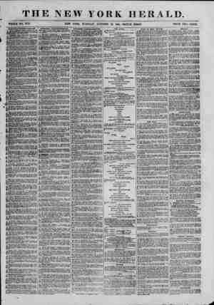 ?THE NEW YORK HERAL WHOLE NO. 9173. NEW YORK, TUESDAY, OCTOBER 22, 1861. -TRIPLE SHEET. PRICE TWO CENTS. fair, for...