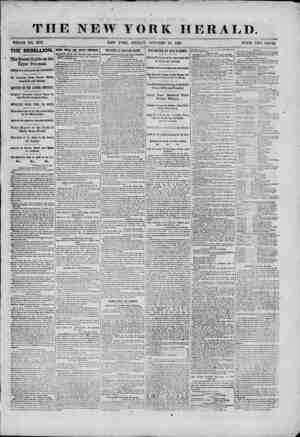 THE NEW YORK HERALD. WHOLE NO. 9176. NEW YORK, FRIDAY, OCTOBER 25, 1861. PRICE TWO CENTS. THE REBELLION. ' The Recent Battle