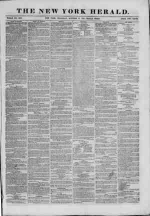 THE NEW YORK HERALD. WHOLE NO. 9182. NEW YORK, THURSDAY, OCTOBER 31, 18G1.-TRIPLE SHEET. PRICE TWO CENTS. BVt.ES AT...