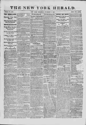 THE NEW YORK HERALD. WHOLE NO. 9189. NEW YORK, THURSDAY, NOVEMBER 7, 1861. TRICE TWO CENTS. THE REBELLION Important News from