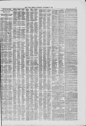 LIST OF LETTERS Remaining in the New York Post Office Saturday, Nov. 9, 1861. Officially Published in the Newspaper Haviug