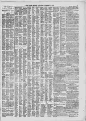 """LIST OF LETTERS Remaining in the New York Post Office Saturday, Deo. 1"""", 1861. Officially Published In the Newspaper Having"""