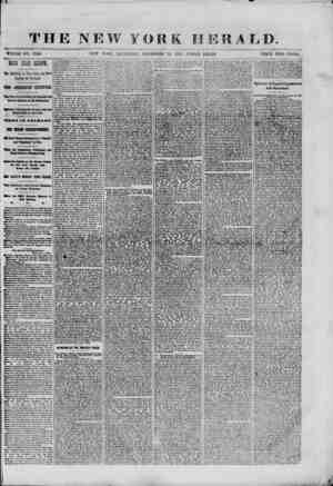 THE NEW YORK HERALD. WHOLE NO. 9240. NEW YORK, SATURDAY, DECEMBER 28, 1801.-TRIPLE SHEET. TRICE TR 0 CENTS. The EtHaburg at