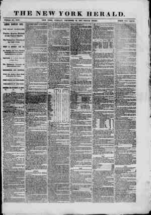 THE NEW YORK HERALD. WHOLE NO. 9243. NEW YORK, TUESDAY, DECEMBER 81, 1861.-TRIPLE SHEET. PRICE TWO CENTS. ANNO DOMINI 1851.
