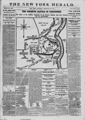 TI I WHOLE NO. 9295. THE FORT DONEISON VICTOR! ADDITIONAL DETAILS. OPERATIONS OF THE LAND FORCES The Brilliant Charge of Lau