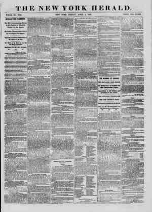 . TH WHOLE NO. 9338. IMPORTANT FROM WASHINGTON. The Bill Emancipating Slaves in the District of Columbia Passed by the...
