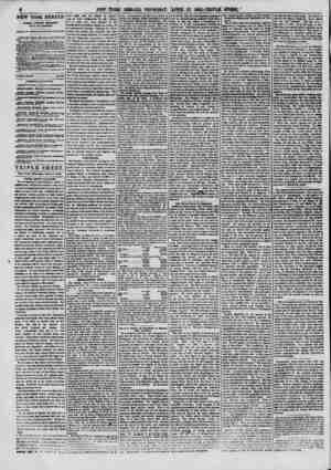 6 NEW YORK HERALD. JAMKH U OK DON BENBITT EDITOR AND PROPRIETOR OFFICE H. W. CORNER OF FULTON AND NASSAU 9TS. TSJt MA eaah in
