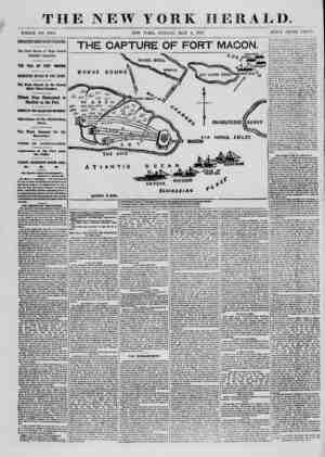 THE NEW YORK HERALD. WHOLE NO. 0308. NEW YORK, SUNDAY. MAY 4, 1802. PRICE THREE CENTS. IMPORTANT FROU SOUTH CAROLINA. Til?