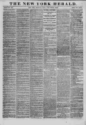 THE NEW YORK HERALD. WH0LJ3 NO. 9372. NEW YORK, THURSDAY, MAY 8, 18(52.- TRIPLE SHEET PRICE TWO CENTS. SITUATIONS...
