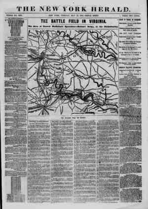 \ THE NEW YORK HERALD. WHOLE NO. 9376. NEW YORK, TUESDAY, MAY 13, 1862.-TRIPLE SHEET. > PRICE TWO CENTS. fro THIS NERVOUS AND
