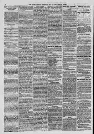 NEW YORK HERALD. JAMBS GORDON BKNBKTT, EDITOR AND PROPRIETOR. wrrtCER W CORNER OK FULTON AND NASSAU STS. TERMS cash in...