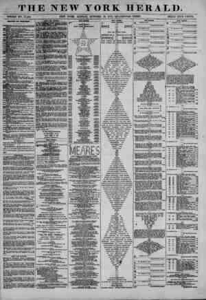 THE NEW YORK HERALD. - > . ^ * WHOLE NO. 13,202. NEW YORK, SUNDAY, OCTOBER 13, 1872.? QUADRUPLE SHEET. PRICE FIVE CENTS....