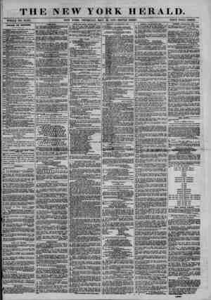 THE NEW YORK HERALD. WHOLE NO. 13.41B. NEW YORK, THURSDAY, MAY 15, 1873.-TR1PLE SHEET. PRICE FOUR CENTS. DiEECTOBT FOB...