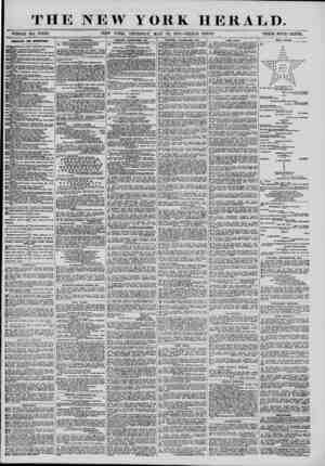"THE NEW YORK HERALD. """" WHOLE NO. 13.42& ~~ NEW YORK, THURSDAY, MAY 22, 1873.-TRIPLE SHEET. PRICE FOUR CENTS. DIRECTORY FOR"
