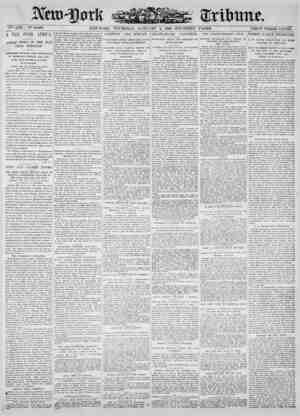 New York Tribune Gazetesi 4 Ocak 1900 kapağı