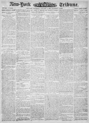 New York Tribune Gazetesi 6 Ocak 1900 kapağı