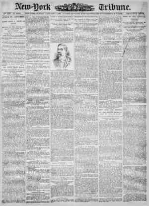 New York Tribune Gazetesi 7 Ocak 1900 kapağı