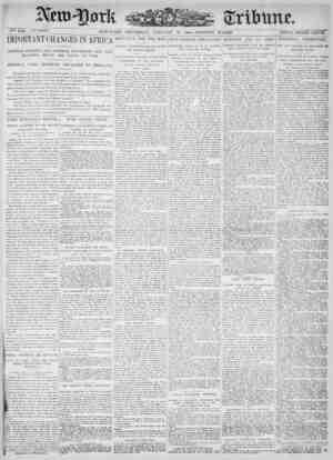 New York Tribune Gazetesi 11 Ocak 1900 kapağı