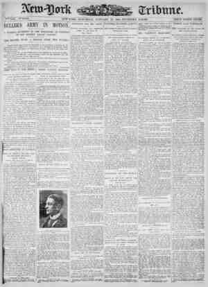 New York Tribune Gazetesi 13 Ocak 1900 kapağı