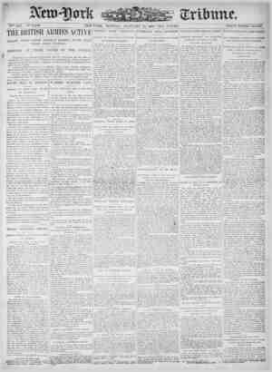 New York Tribune Gazetesi 15 Ocak 1900 kapağı