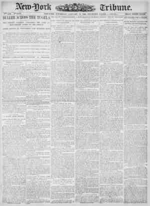 New York Tribune Gazetesi 18 Ocak 1900 kapağı
