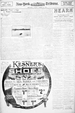 PART V. EIGHT PAGES. DRAMA, MUSIC AND FASHION. NEW-YORK, SUNDAY, MARCH 21, 1912. Dardanelles Closed at Night to Protect...