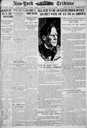New York Tribune sayfa 1