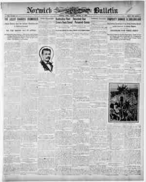 Norwich Bulletin Gazetesi 4 Ocak 1909 kapağı